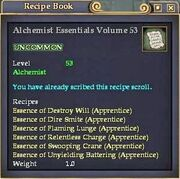 Alchemist Essentials Volume 53