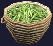 Basket of beans (Visible)