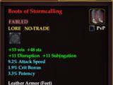 Boots of Stormcalling