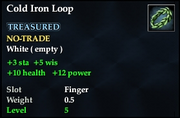 Cold Iron Loop