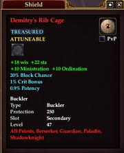 Demitry's Rib Cage