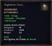 Nighthide Tunic