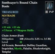 Soothsayer's Bound Chain Boots