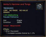 Ventur's Hammer and Tongs