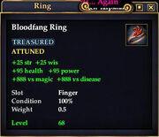 Bloodfang Ring