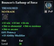 Bouncer's Earhoop of Force