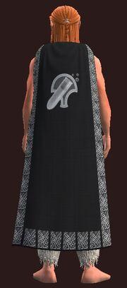 Cloak of the Alchemist worn