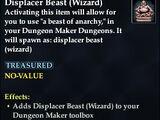 Displacer Beast (Wizard)