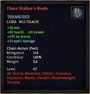 Dune Stalker's Boots