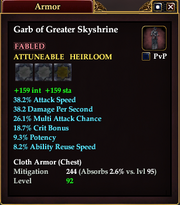 Garb of Greater Skyshrine