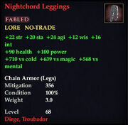 Nightchord Leggings