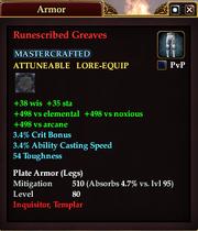 Runescribed Greaves