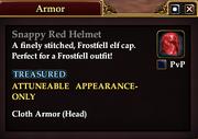 Snappy Red Helmet