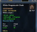 White Dragonscale Cloak