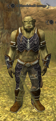 A Bloodskull savage - Maulic