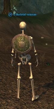 A skeletal veteran