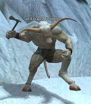 An Enraged Frosthorn