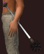 Blessed Iron Mace (Equipped)