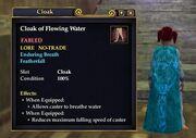 Cloak of Flowing Water