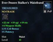 Ever Frozen Stalker's Waistband