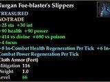 Nurgan Foe-blaster's Slippers