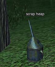 Scrap heap-oil can