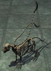 Skeletal prowler plushie (Visible)