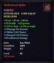 Voidcursed Spike