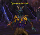 A corrupted tender