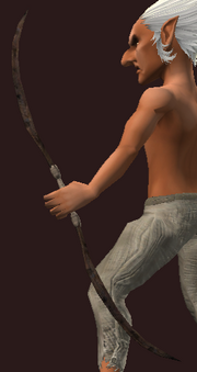 Berserker's Bludgeoning Bow (Equipped)