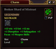 Broken Shard of Mistrust