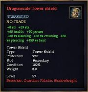 Dragonscale Tower shield