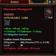 Horseman Harmguard