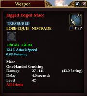 Jagged Edged Mace