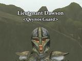 Lieutenant Dawson