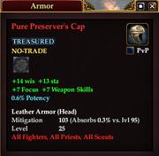 Pure Preserver's Cap