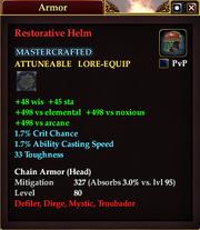 Restorative Helm