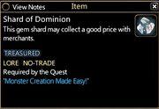 Shard of Dominion