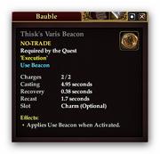 Thisks Varis Beacon