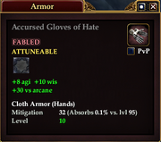 Accursed Gloves of Hate