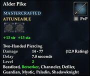 Alder Pike