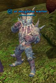 An amygdalan warrior