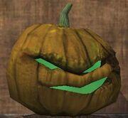 An angry jack-o-lantern (Visible)