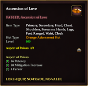 Ascension of Love (orange)