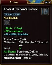 Boots of Shadow's Essence