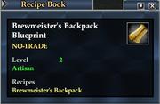 Brewmeister's Backpack Blueprint