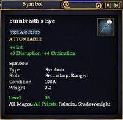Burnbreath's Eye
