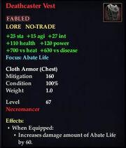 Deathcaster Vest