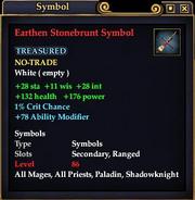 Earthen Stonebrunt Symbol