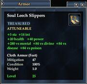 Soul Leech Slippers
